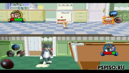 Tom and Jerry in House Trap (RUS) [PSX]