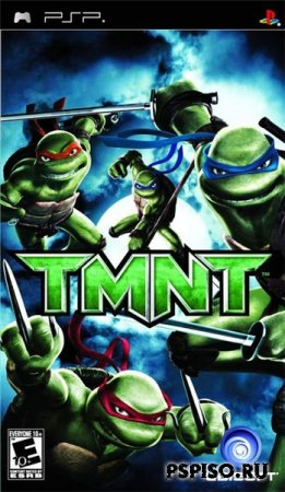 TMNT - Teenage Mutant Ninja Turtles [FullRIP][CSO][RUS]