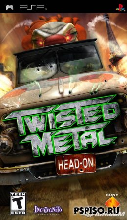 psp, psp ����, psp �������, psp ��������� �������, ��������� ���� pspTwisted Metal: Head-On RUS