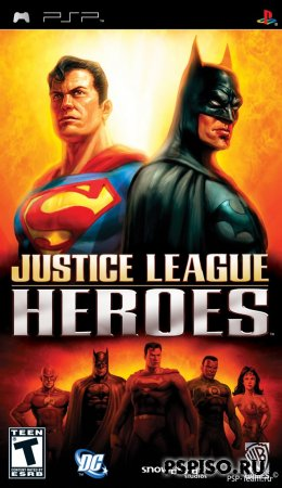 Justice League Heroes ENG
