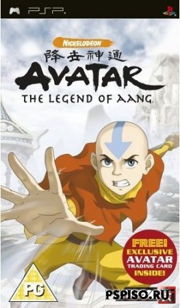 Avatar: The Legend Of Aang [PSP][FULL][ENG]