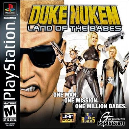 Duke nukem: Land of the babes Psp/psx