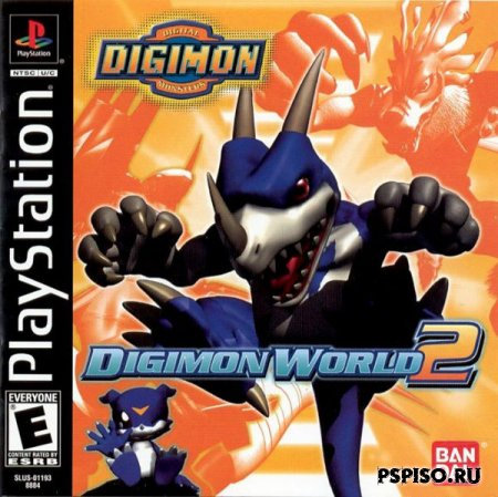 Digimon World 2 [PSX] [RUS]