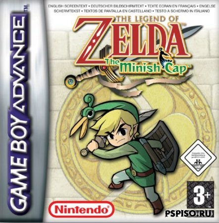 The Legend of Zelda - The minish Cap GBA(rus)