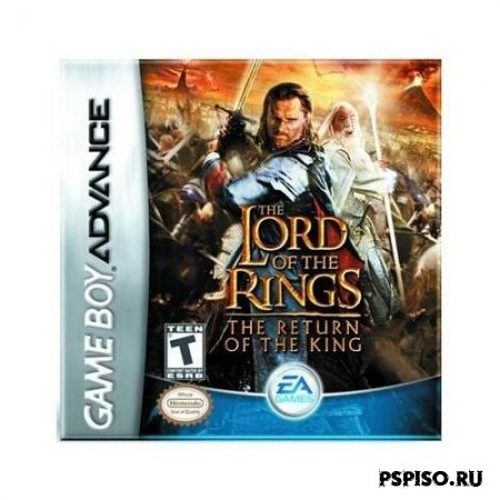The Lord of the Rings: The Return of the King GBA(rus)